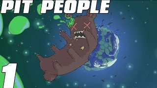 Pit People Early Access - Turn Based Castle Crashers - Lets Play Part 1