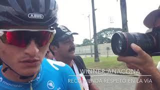 Miniatura Video Winner Anacona, se suma a la ANSV con mensajes de Seguridad Vial