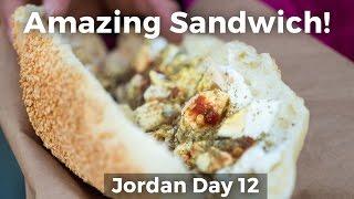 Video Arabic Kaek Sandwich at Salaheddin Bakery - INCREDIBLE Sesame Bread Sandwich in Amman, Jordan! MP3, 3GP, MP4, WEBM, AVI, FLV Agustus 2019