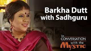Barkha Dutt With Sadhguru  In Conversation With The Mystic