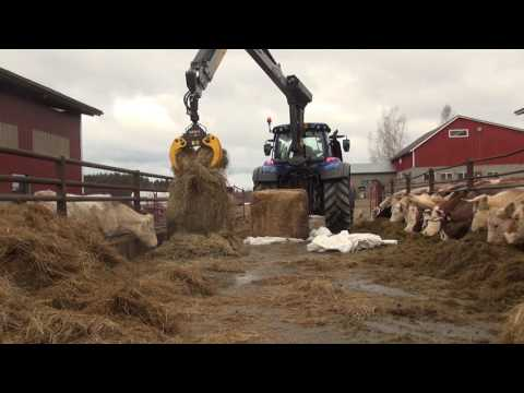KESLA 316T: Handling bales and feeding cattle