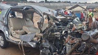 Kronologi Kecelakaan Maut di Tol JORR Arah Pondok Aren: Mobil Outlander Terobos Pembatas Jalan