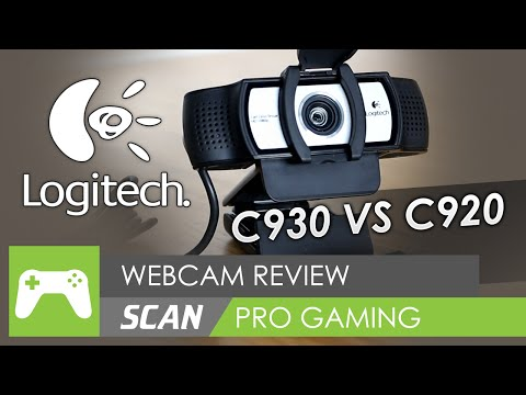 Logitech C930e Full HD 1080p Webcam Review (vs C920)