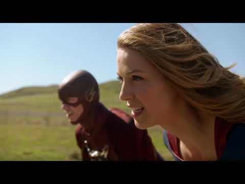 Race - Supergirl vs Flash - It Feels Like Today