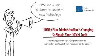 Auditors Must Adapt Their Audit Approach with the Technology Used to Administer Retirement Plans