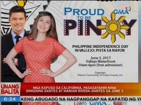 UB: Mga Kapuso sa California, pasasayahin nina Dingdong Dantes at Marian Rivera-Dantes sa June 3