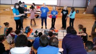 January 7, 2017 Tournament at Westview – Qualifying Match with Hygiene Elementary's Team 10731C, Radical Robots