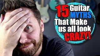 15 Guitar Myths That Make Us All Look CRAZY!   Kholo.pk