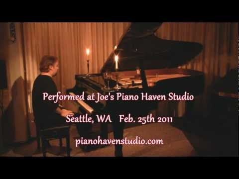 Joe Bongiorno performs Melancholy Morning - New Age solo piano, Kawai RX-7