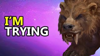 ♥ Heroes of the Storm (HotS) - Rexxar, I'm Trying.