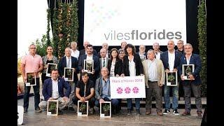 Sant Hipòlit de Voltregà rep el reconeixement de Vila Florida amb 3 Flors d'Honor