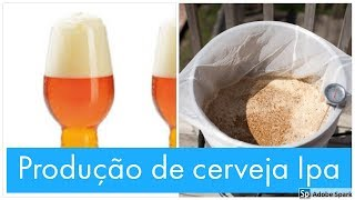 Receita Cerveja IPA ,feita no biab