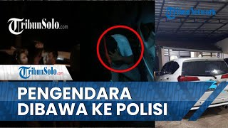 Pengendara Mobil Bersuara Bising di Jumantono Karanganyar Diamankan Warga dan Diserahkan ke Polisi