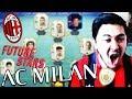 LA SQUADRA LEGGENDARIA DEL MILAN SU FIFA 19!!! ICONE E FUTURE PROMESSE!!!!