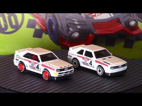 Hot Wheels New 1984 Audi Sport Quattro SWB | Custom & Stock Review