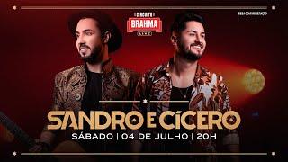 LIVE SANDRO E CÍCERO | Circuito Brahma Live | #FiqueEmCasa e Cante #Comigo
