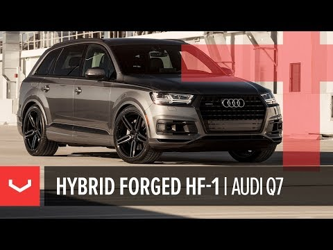 Vossen Hybrid Forged HF-1 Wheel | Audi Q7 | Tinted Gloss Black