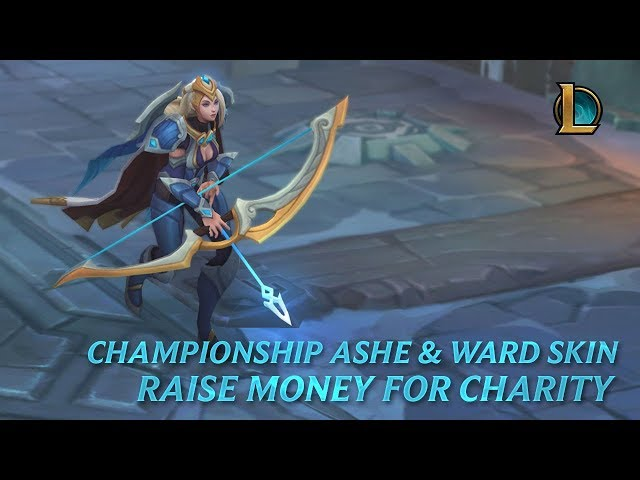 Raise Money for Charity With Championship Ashe in League of
