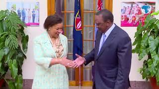 Commonwealth Sec-Gen Patricia Scotland visits UhuruCommonwealth