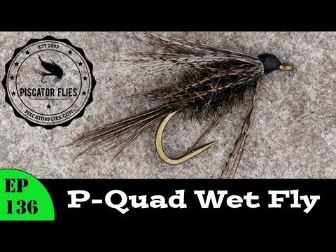 P-Quad Wet Fly