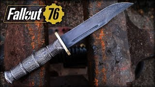 Real Fallout 76 Combat Knife | NOT A Prop!