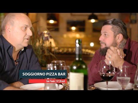 """A """"arte da pizza"""" no Soggiorno Pizza Bar"""