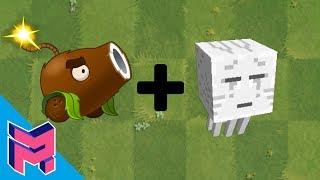 Plants vs Zombies Fusion Hack Animation ( Coconut Cannon + Ghast )