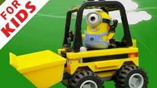 Minion Kevin is in danger. Minions adventure.