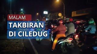 Malam Lebaran Idul Fitri 1441 Hijriah, Jalan Ciledug Raya Ramai Dilalui Kendaraan