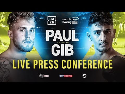 LIVE 🥊 Jake Paul vs. AnEsonGib Press Conference