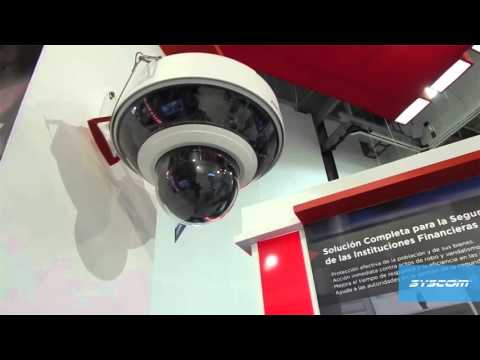 Mega Domo 360º - 8 Cámaras 1 PTZ Full Solution - HIKVISION