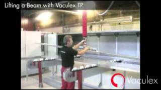 Lifting a Beam with Vaculex TP