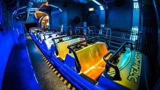 รถไฟเหาะ Black Hole Coaster |Vekoma MK900| สวนสนุก Dreamworld