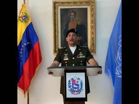 Agregado militar de Venezuela ante la ONU reconoce a Guaido como presidente encargado