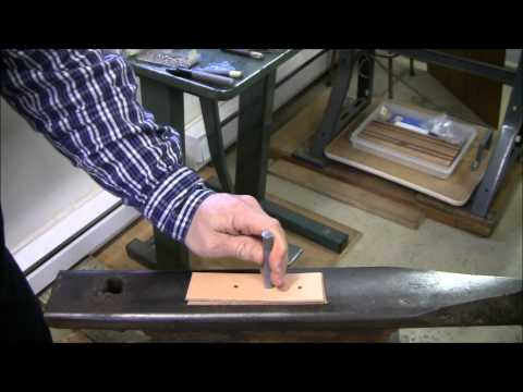 How To Set Rivets In Leather