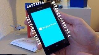 NOKIA Lumia 520 - Wie günstig geht Windows Phone ?! - Unboxing Deutsch