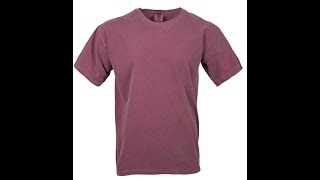 Comfort Colors Mens Adult Short Sleeve Tee, Style 1717
