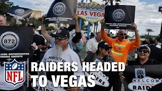 Announcing the Oakland Raiders Move to Las Vegas | NFL