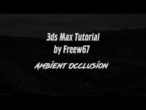 3ds Max Tutorial: Ambient Occlusion