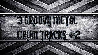 3 Groovy Metal Drum Tracks #2 (HQ,HD)