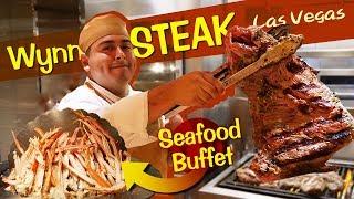 Wynn STEAK & SEAFOOD BUFFET Review in Las Vegas