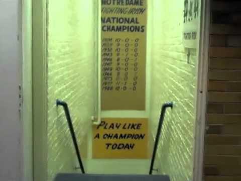 Football Locker Room Tour