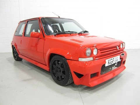 An Exhilarating Renault 5 GT Turbo.  Ex-Torsion Tuning Demonstrator And Exhibition Car - SOLD!