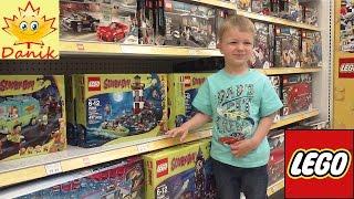 🍁 Vlog В МАГАЗИНЕ ИГРУШЕК обзор конструкторов ЛЕГО Купили LEGO NINJAGO Shopping in kids toys store