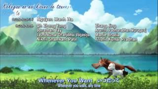 Arashi no Yoru ni: Himitsu no Tomodachi [Ending]