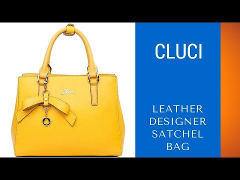 Best Tote Crossbody Bag – Cluci Leather Handbag Purse Review