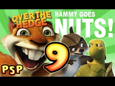 Over The Hedge: Hammy Goes Nuts! Walkthrough Part 9 (PSP) Mission 9 [Full - 9 Of 10]