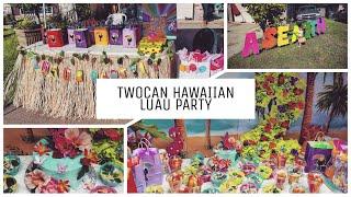 Dollar Tree Hawaiian/Luau Party
