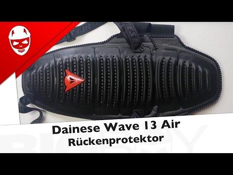 Dainese Rückenprotektor Wave 13 Air - Test (Deutsch)