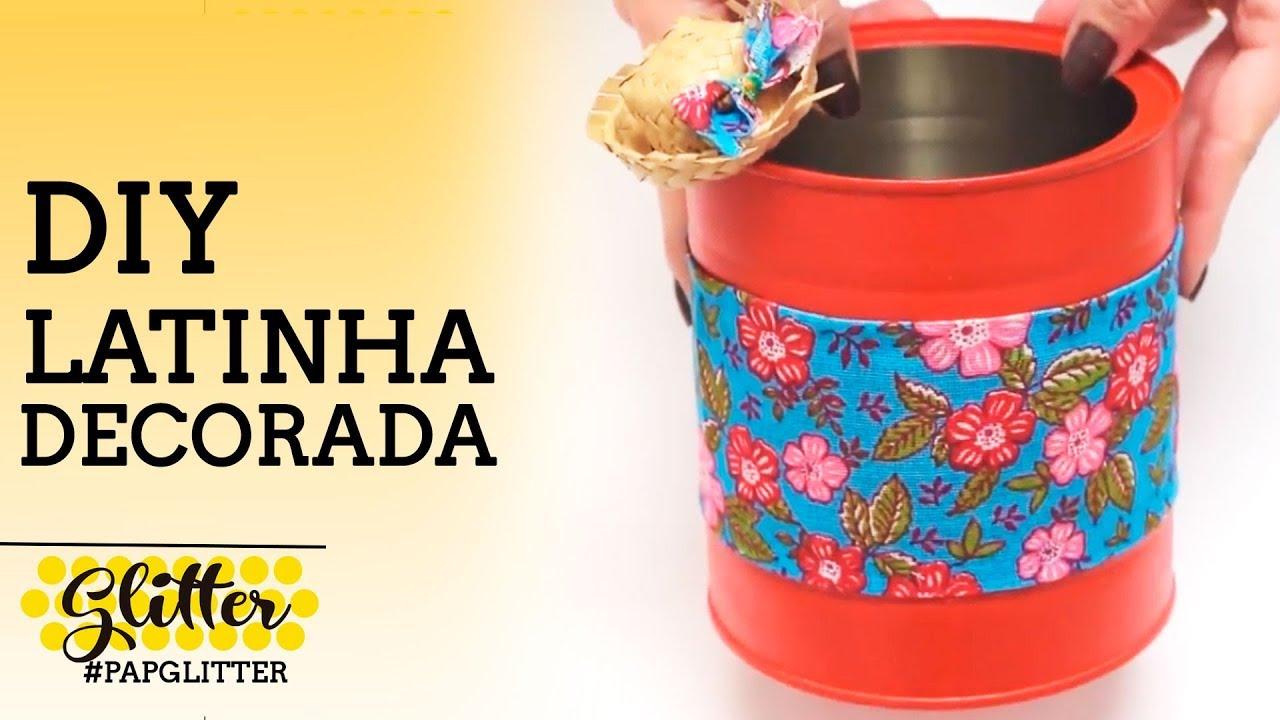 DIY | Latinha decorada